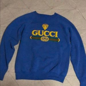 Vintage Gucci crewneck from 1980 era! Very rare